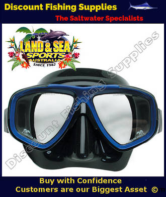 Land And Sea ARISTOCRAT BLACK Dive Mask
