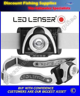 LED Lenser SEO 5 Headlamp Grey