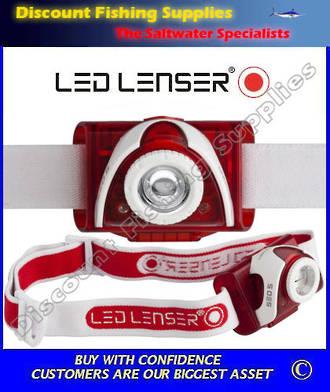 LED Lenser SEO 5 Headlamp Red