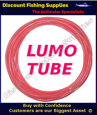 Lumo Tube 5 meters Pink 1.6mm ID
