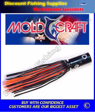 Mold Craft Standard 4 Eyed Monster - Black/Orange
