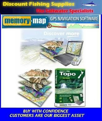 Memory-Map Topo South Island