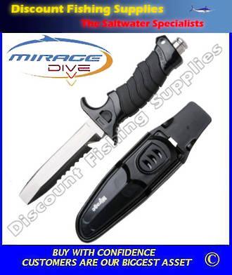 Mirage Dive Knife - Samoa (Paua Scoop Knife)