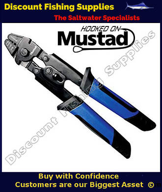 "Mustad 10"" Heavy-Duty Crimping Pliers"