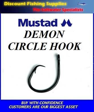 Mustad Demon Circle Hooks - small pack