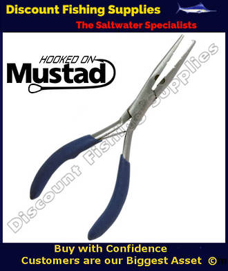 """Mustad Micro SS Plier 5.5"""" Splitring Plier"""