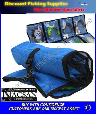 Nacsan Lure Wallet - 8 Pouch