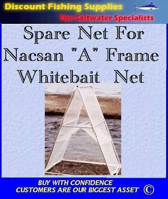"Spare Net FOR the Folding ""A"" Frame net"