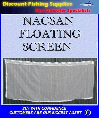 Nacsan Floating Whitebait Screen 3m