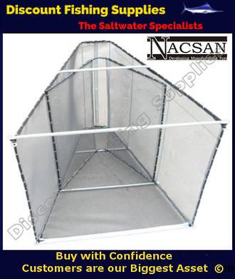 Nacsan Large Folding A Frame WhiteBait Setnet