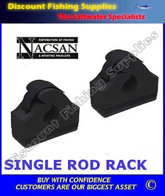 Nacsan Single Adhesive Rod Rack