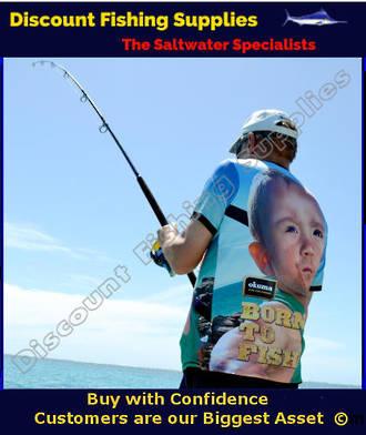 "Okuma ""BORN TO FISH"" Tee Shirt - Green Shirted Baby"