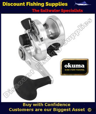 OKUMA CAVALLA 5NS 4BB Single Speed Lever Drag Jigging Reel