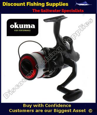 Okuma Ceymar Baitfeeder CMBF-365 Loaded with 15kg Line