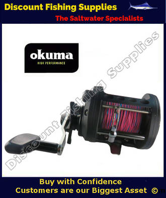 Okuma Classic CLX450La  Trolling Reel With Leadline
