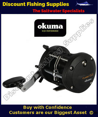 Okuma Classic CLX 300La Boat Reel