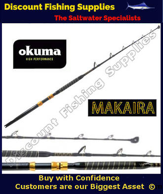 Okuma Makaira StandUp Game Rod 37kg - Roller Tip