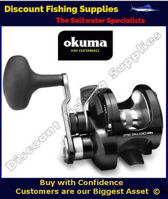Okuma Metaloid 5NS Single Speed Narrow Jigging Reel