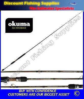 "Okuma NanoMatrix Dropshot Softbait Spin Rod 6'6"" 2pc 3-6kg"