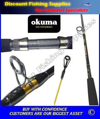 "Okuma Sensor Tip 6'6"" 10-15kg Boat Rod"