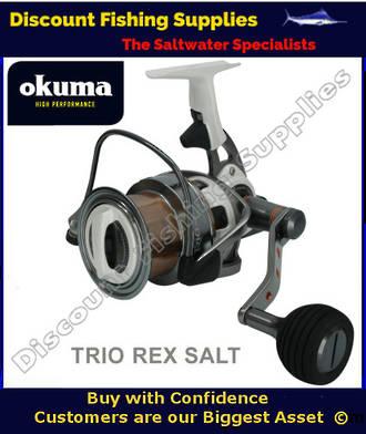 Okuma Trio Rex SALT 60 FD Longcast Surf Reel