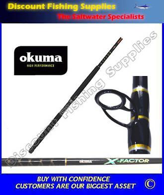 "Okuma X-Factor 15kg 6'6"" Boat Rod"
