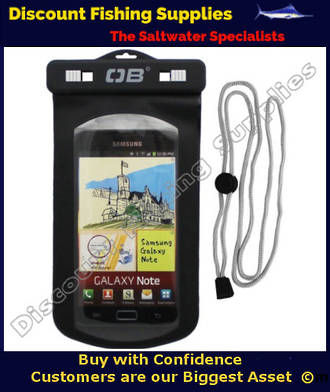 Overboard Waterproof Phone Case - Large - Black