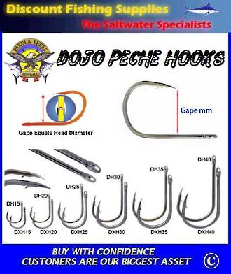 Pakula Dojo Hook HX 35mm - 4 Pack