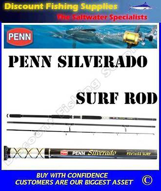 Penn Silverado PSV1303 Surf Rod 13' - 3pc