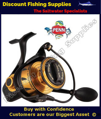 Penn VI Series Spinfisher SSVI 7500
