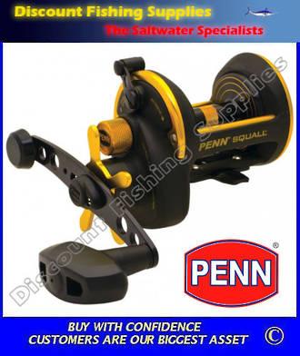 Penn Squall 30 Star Drag Overhead Reel