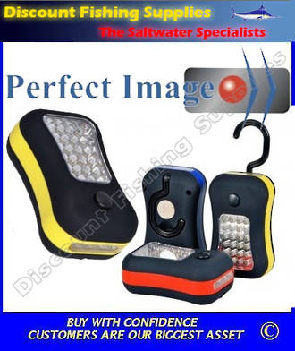 Perfect Image - 24 LED WORKLIGHT & 4 LED TORCH