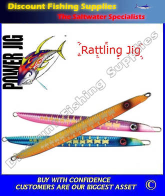 Power Jig S-Grade Rattling Jig 300g
