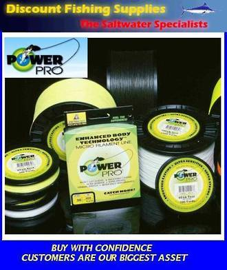 Power Pro Braid 30LB X 3000YDS Hi-Vis Yellow - BULK BRAID
