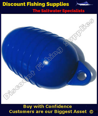 "QE PVC Cray Float 5.5"" 6 Rib - BLUE"