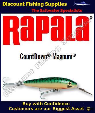 "Rapala CD18 Sinking Magnum - 7"" Green Mackerel"