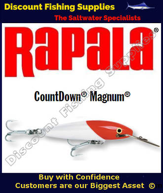 "Rapala CD14 Sinking Magnum - 5&1/2"" Redhead"