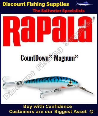 "Rapala CD18 Sinking Magnum - 7"" Silver Mackerel"