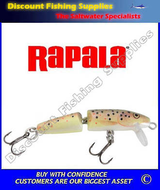 Rapala Jointed Floating Trout Lure J7 - Brown Trout