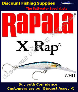Rapala X-Rap Magnum 30 16cm - SINGLE HOOK Wahoo UV