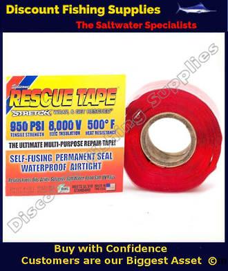 Rescue Tape (Self Amalgamating) Red 25mm X  3.6m