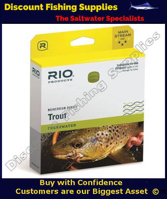 Rio Mainstream Aqualux Intermediate Fly Line - WF7I Clear