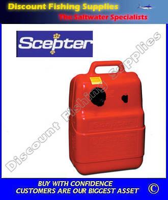 Scepter 25 Litre Fuel Tank - NO GAUGE
