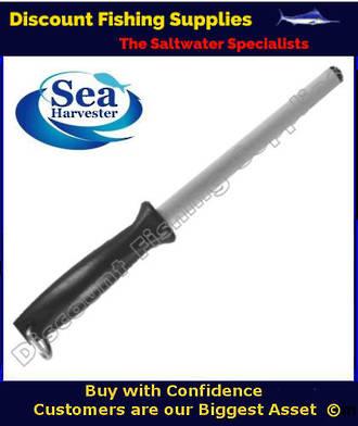 """Sea Harvester Diamond Sharpening Steel 10"""""""