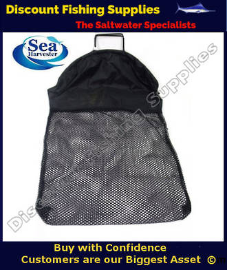 Sea Harvester Dive Catch Bag Black