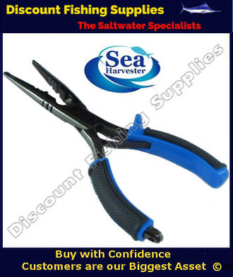 Sea Harvester Long Nose Split Ring Pliers