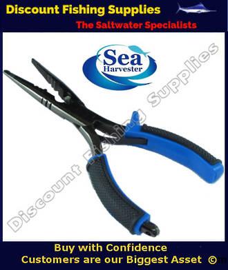 Sea Harvester Long Nose Split Ring Pliers