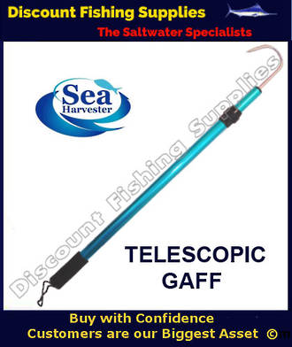 Sea Harvester Telescopic Gaff 1.2m