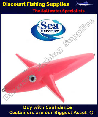 Sea Harvester Teaser Bird - PINK 23cm