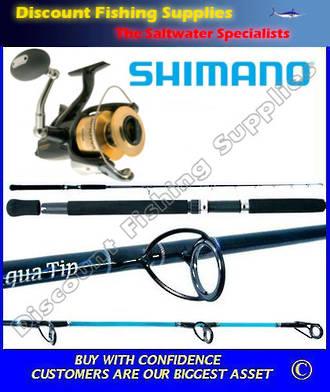 Shimano Baitrunner 12000D Aquatip 7' 15kg Combo